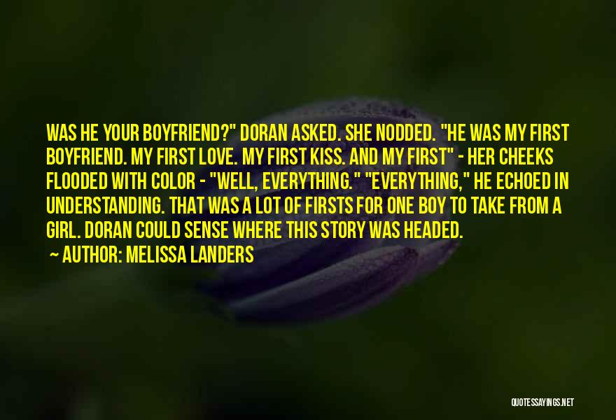 Love For Your Boyfriend Quotes By Melissa Landers