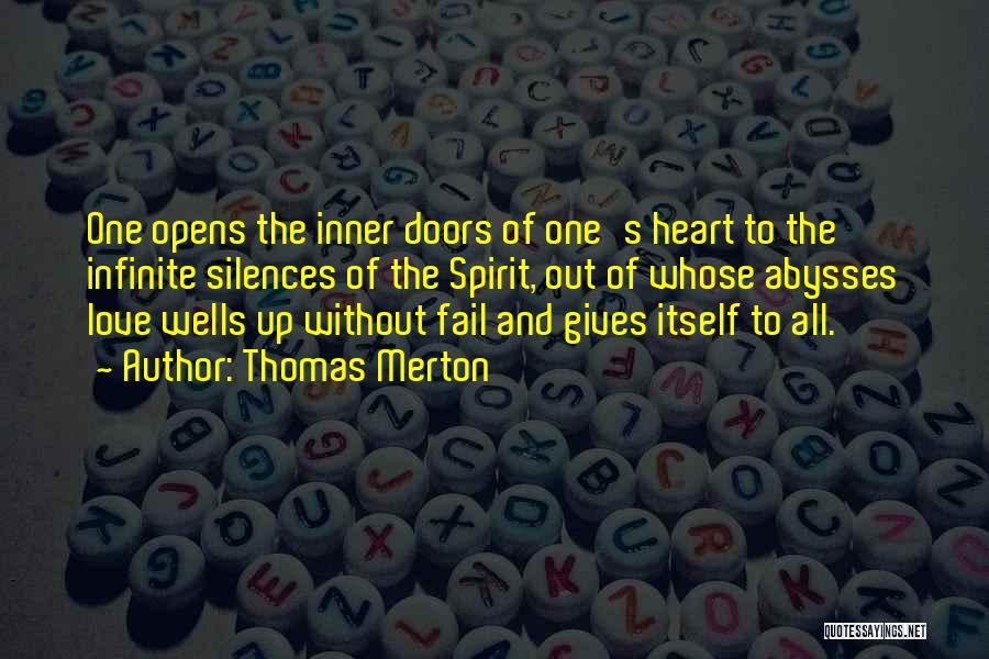 Love Giving Up Quotes By Thomas Merton
