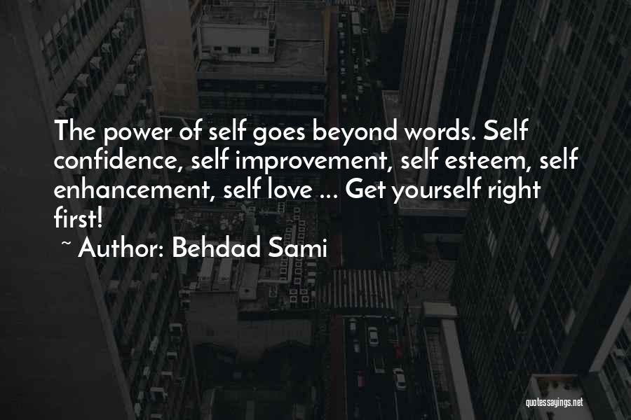 Love Goes Beyond Quotes By Behdad Sami
