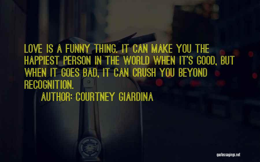 Love Goes Beyond Quotes By Courtney Giardina