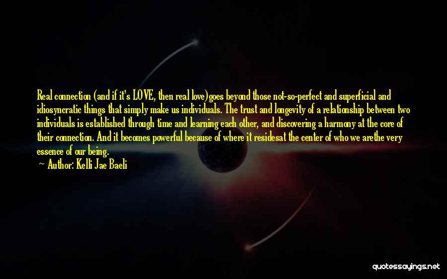 Love Goes Beyond Quotes By Kelli Jae Baeli
