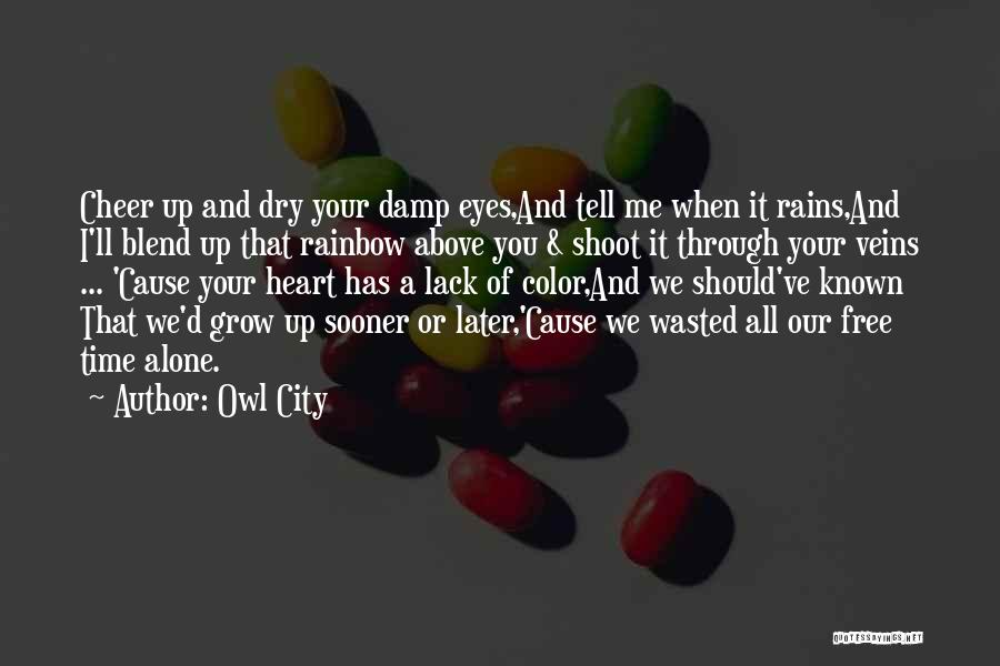Love Grow Up Quotes By Owl City