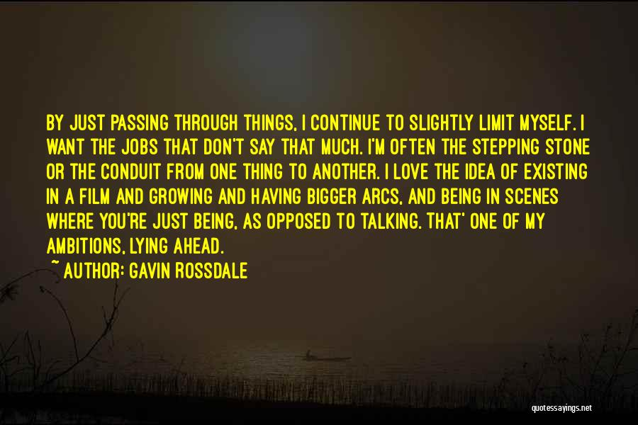 Love Growing Quotes By Gavin Rossdale