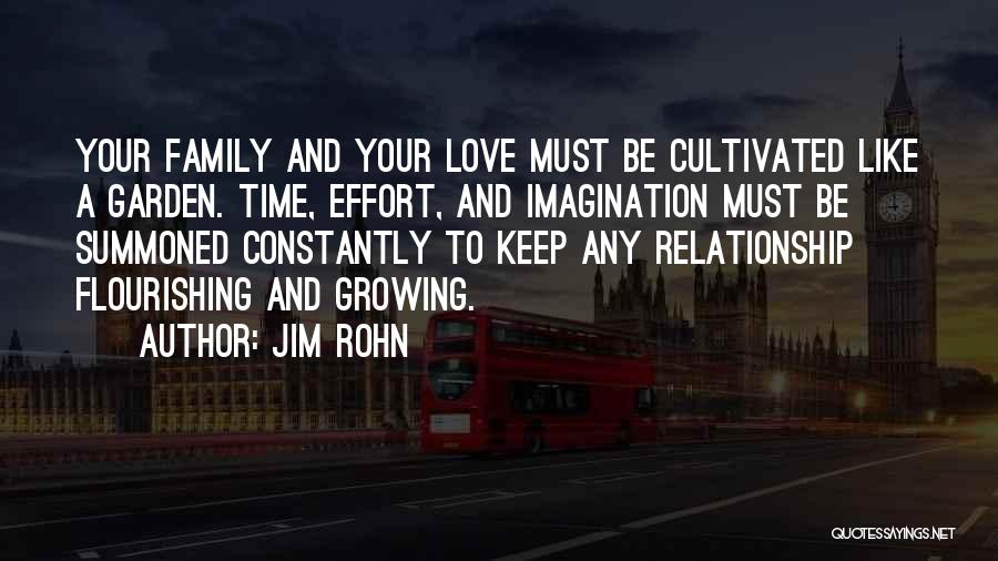 Love Growing Quotes By Jim Rohn