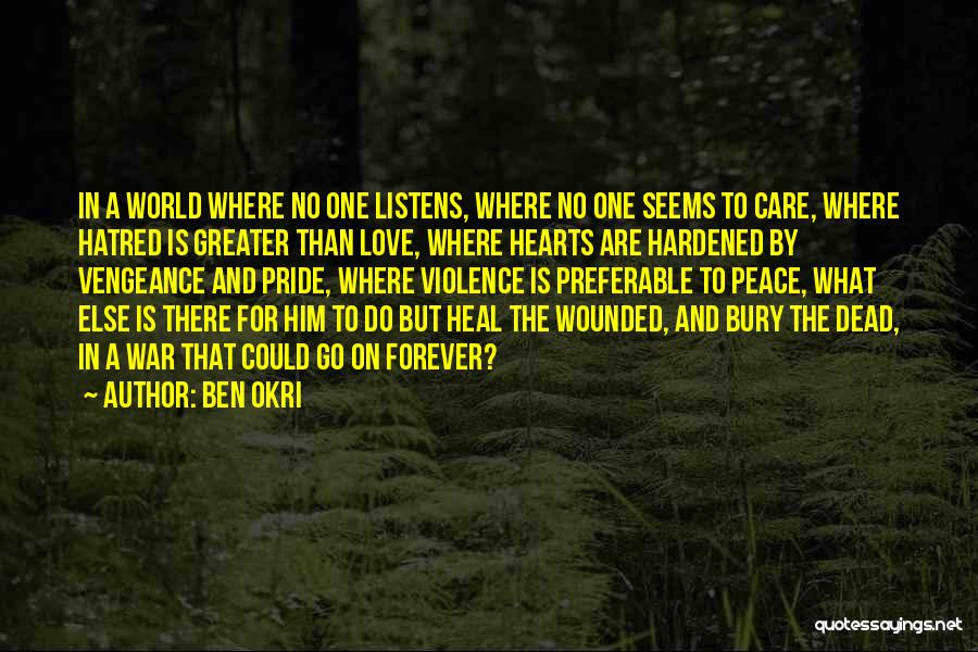 Love Hearts And Quotes By Ben Okri