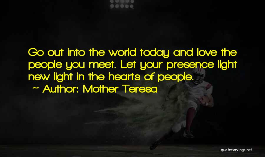 Love Hearts And Quotes By Mother Teresa