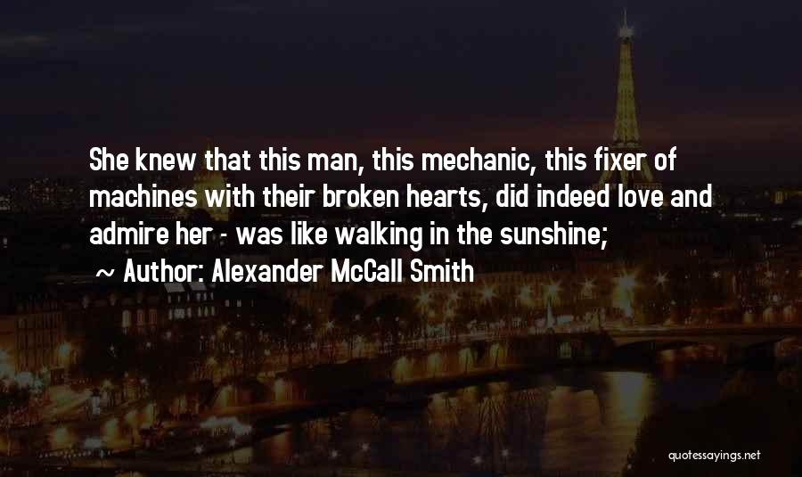 Love Hearts Broken Quotes By Alexander McCall Smith