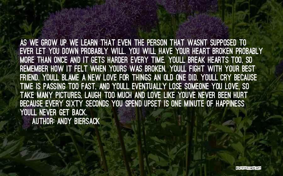 Love Hearts Broken Quotes By Andy Biersack