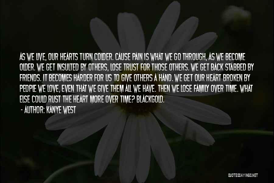 Love Hearts Broken Quotes By Kanye West