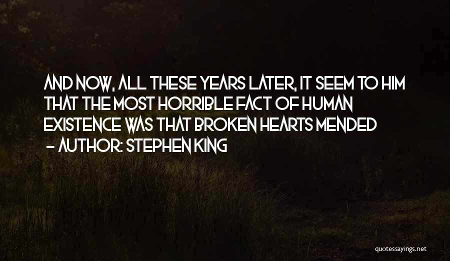 Love Hearts Broken Quotes By Stephen King
