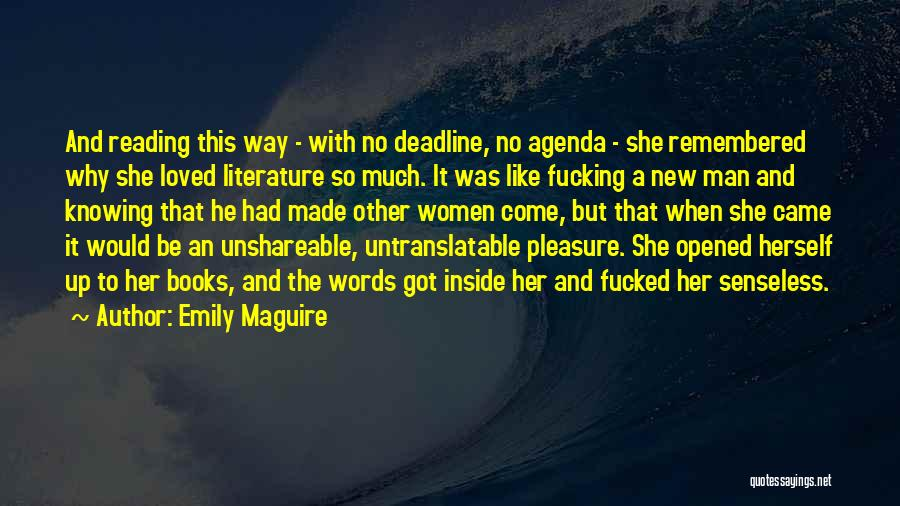 Love Her Like No Other Quotes By Emily Maguire