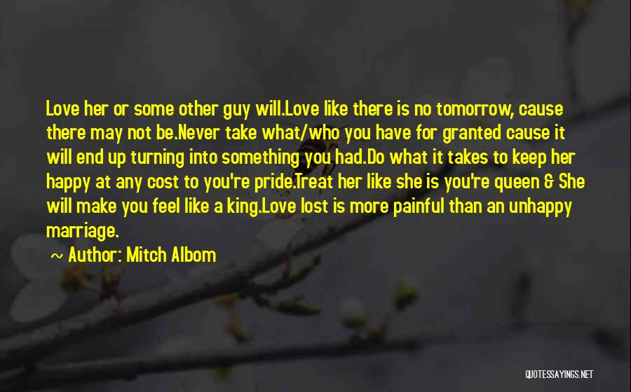 Love Her Like No Other Quotes By Mitch Albom