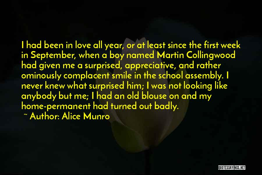 Love Him Like Quotes By Alice Munro