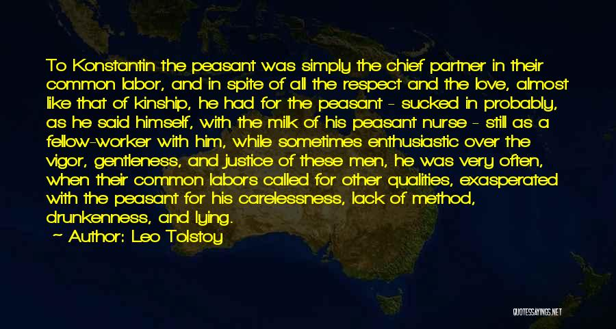 Love Him Like Quotes By Leo Tolstoy