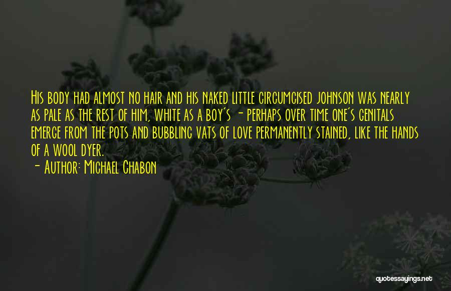 Love Him Like Quotes By Michael Chabon