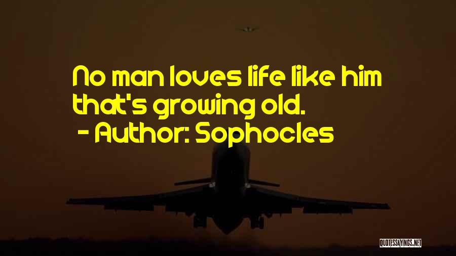 Love Him Like Quotes By Sophocles
