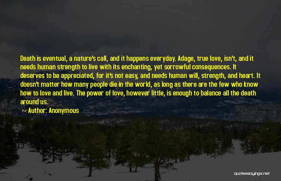 Love Him More Everyday Quotes By Anonymous