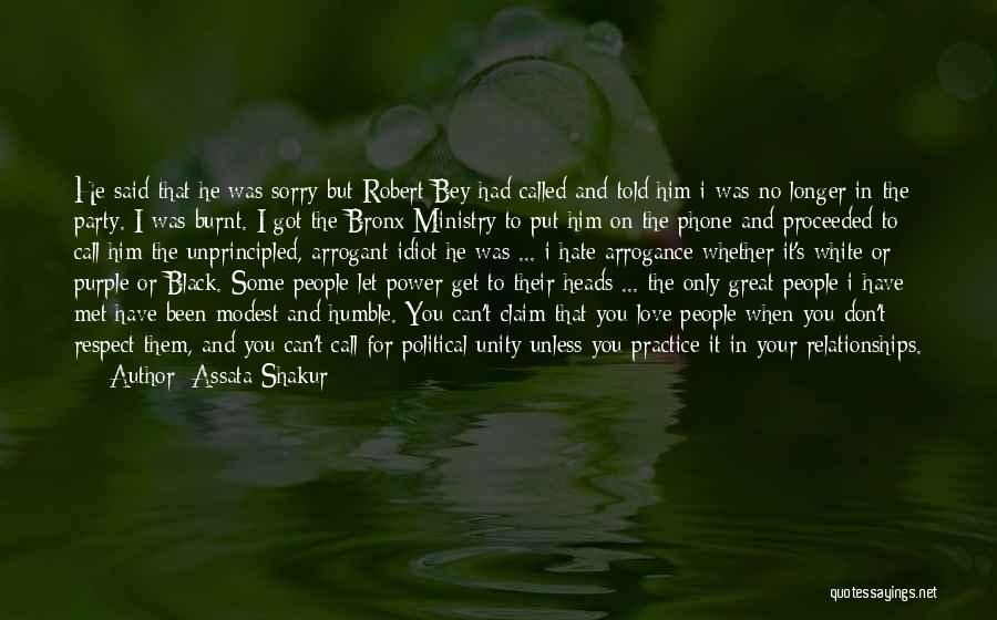 Love Him Only Quotes By Assata Shakur