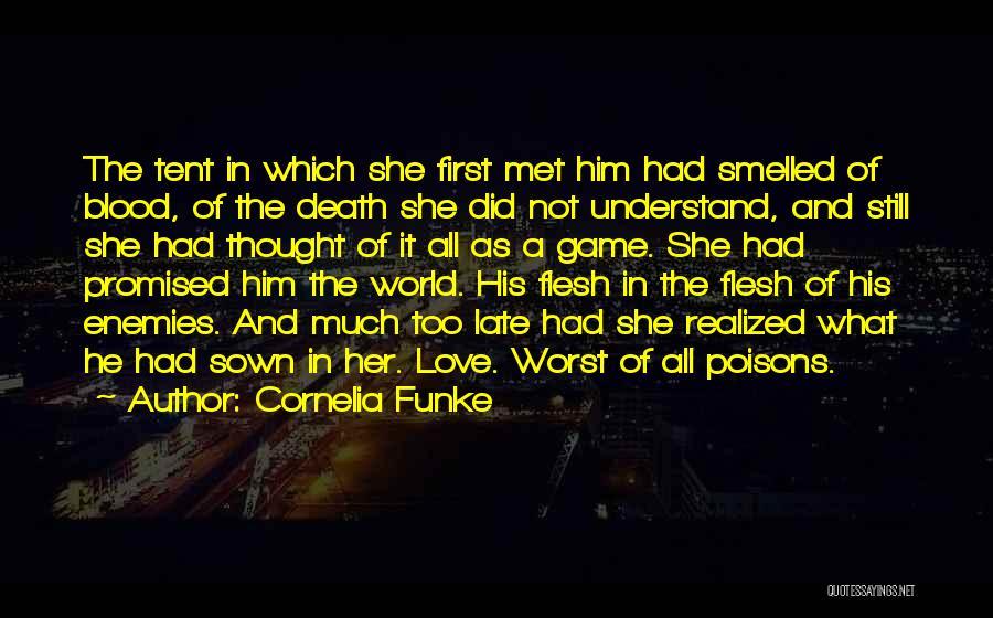 Love Him Still Quotes By Cornelia Funke