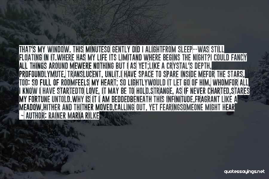 Love Him Still Quotes By Rainer Maria Rilke