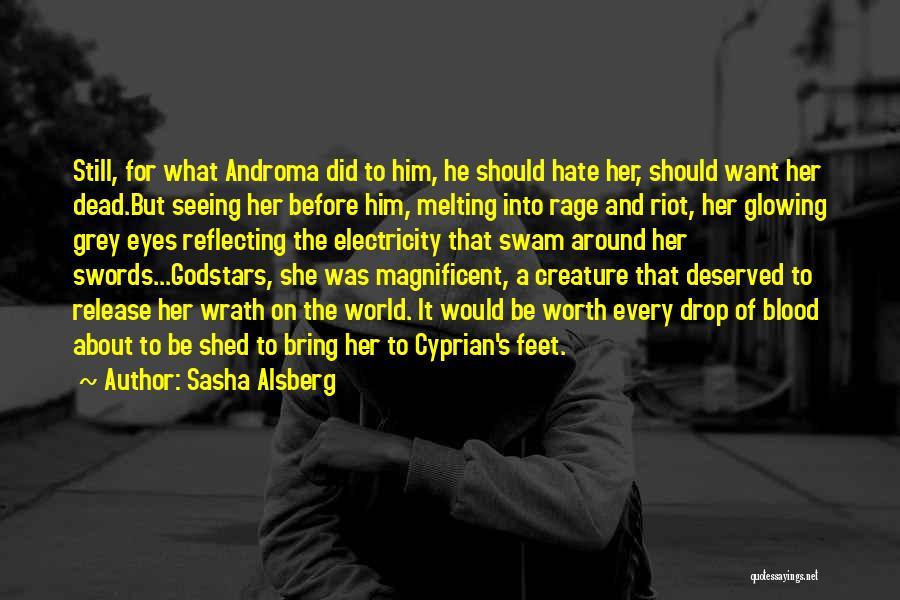 Love Him Still Quotes By Sasha Alsberg