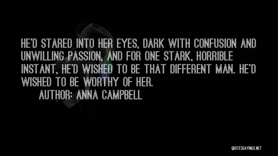 Love Horrible Quotes By Anna Campbell
