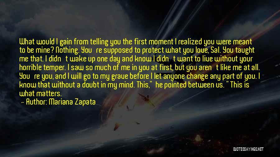 Love Horrible Quotes By Mariana Zapata