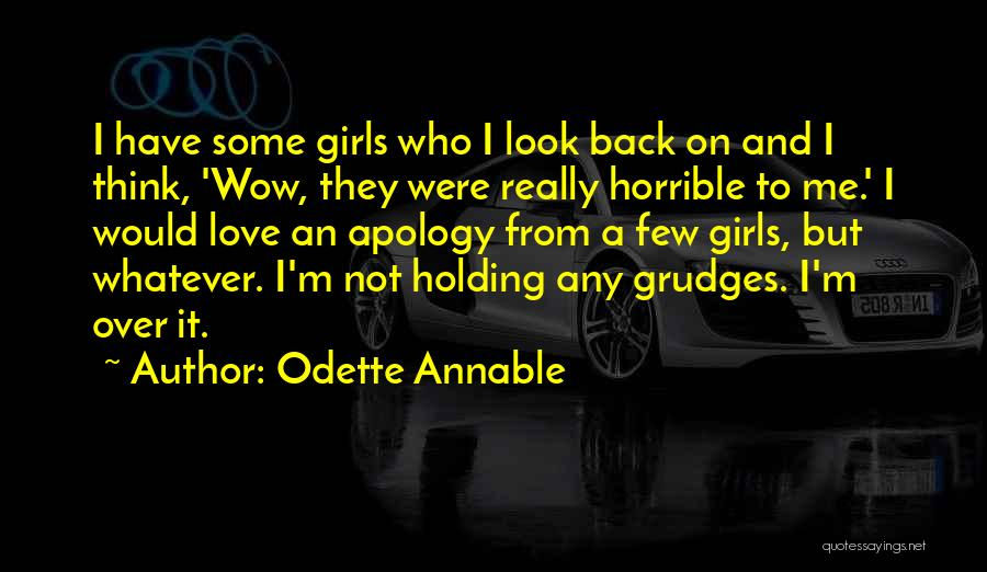 Love Horrible Quotes By Odette Annable