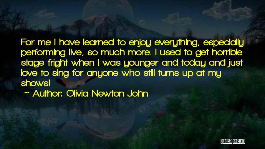 Love Horrible Quotes By Olivia Newton-John
