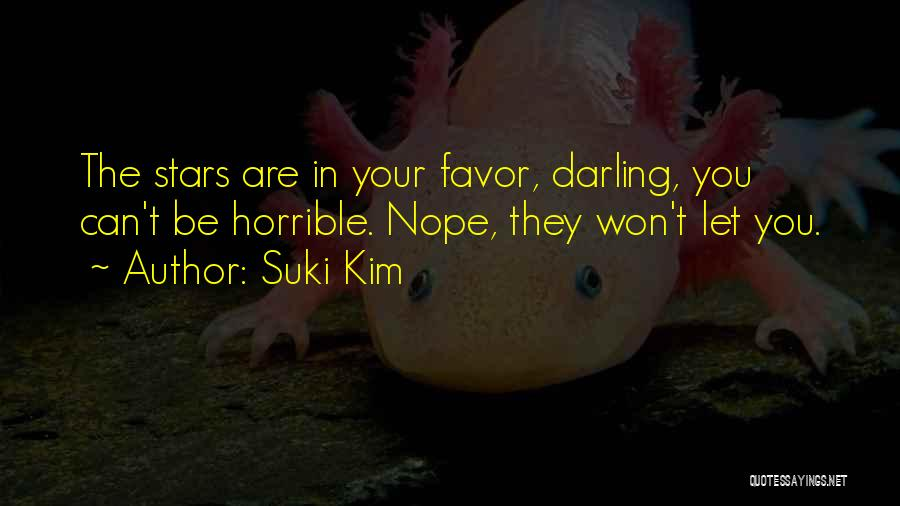 Love Horrible Quotes By Suki Kim
