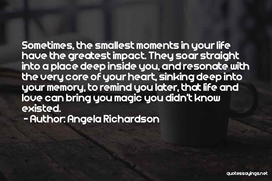 Love In Later Life Quotes By Angela Richardson
