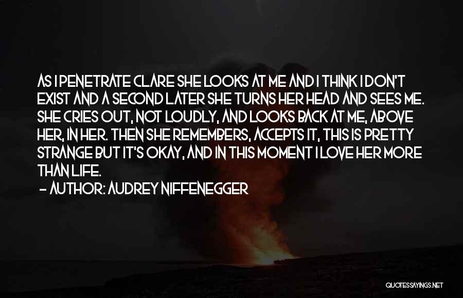 Love In Later Life Quotes By Audrey Niffenegger