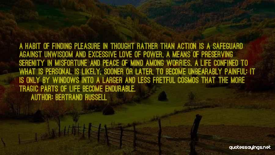 Love In Later Life Quotes By Bertrand Russell