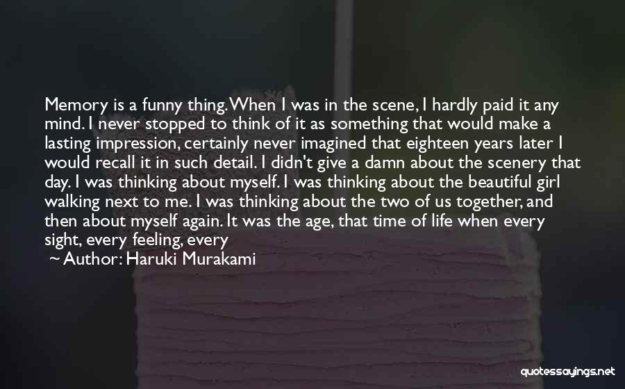 Love In Later Life Quotes By Haruki Murakami