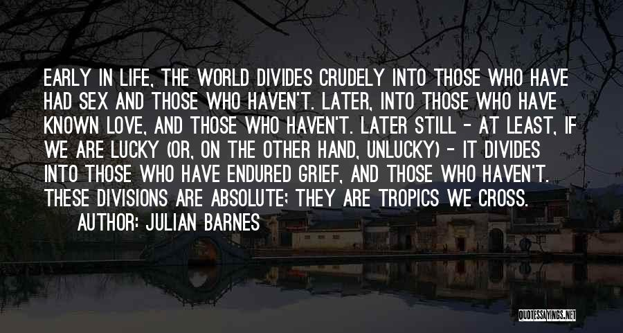 Love In Later Life Quotes By Julian Barnes