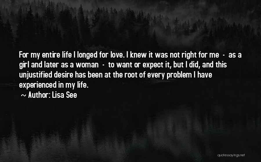 Love In Later Life Quotes By Lisa See