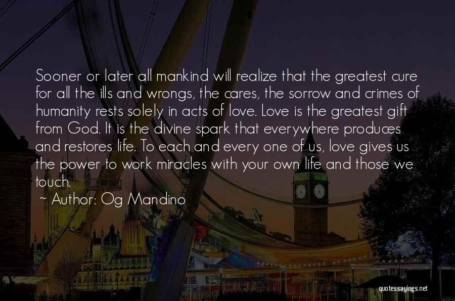 Love In Later Life Quotes By Og Mandino