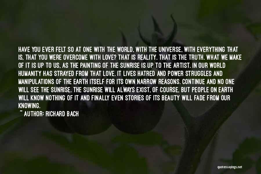 Love In Reality Quotes By Richard Bach
