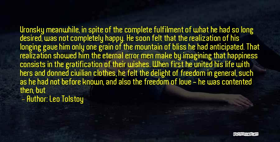 Love In Spite Of Quotes By Leo Tolstoy