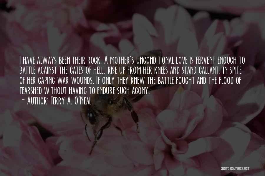 Love In Spite Of Quotes By Terry A. O'Neal