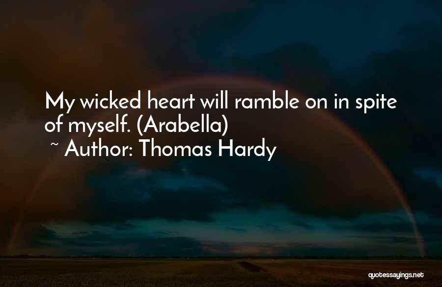 Love In Spite Of Quotes By Thomas Hardy