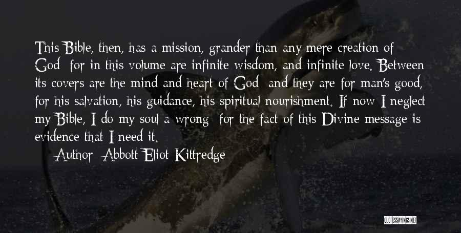 Love In The Bible Quotes By Abbott Eliot Kittredge