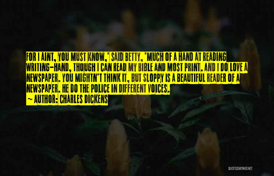 Love In The Bible Quotes By Charles Dickens