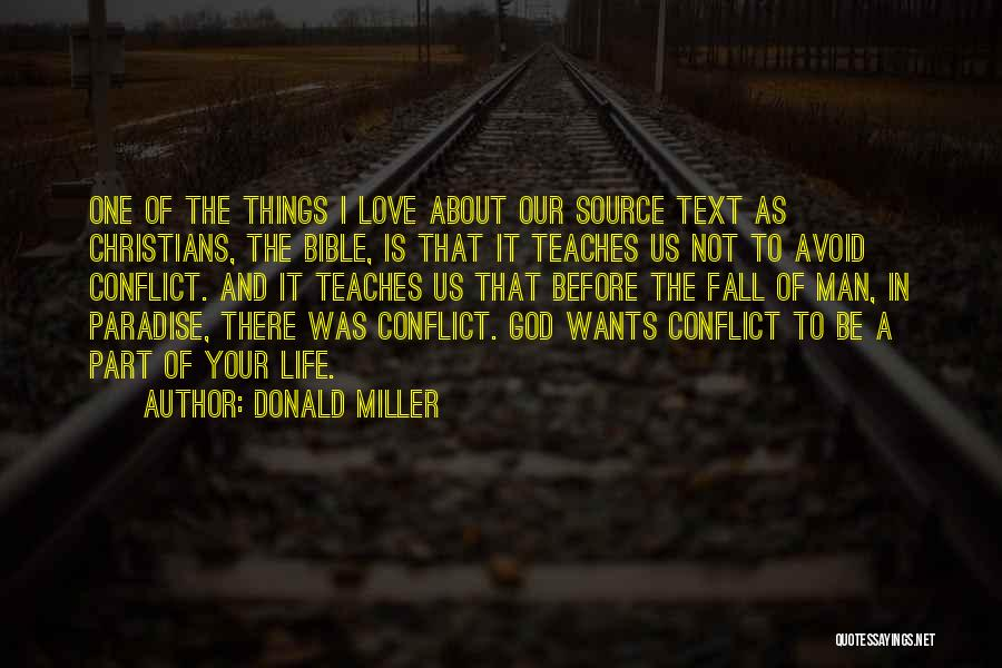 Love In The Bible Quotes By Donald Miller