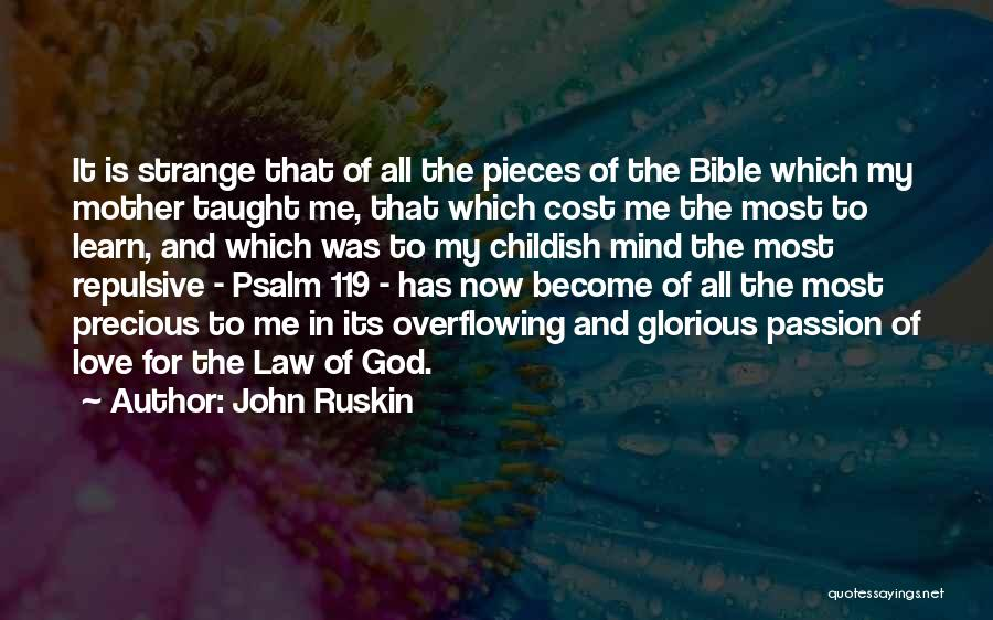 Love In The Bible Quotes By John Ruskin