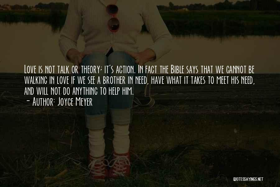 Love In The Bible Quotes By Joyce Meyer