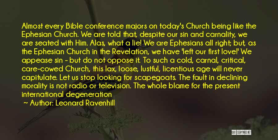 Love In The Bible Quotes By Leonard Ravenhill