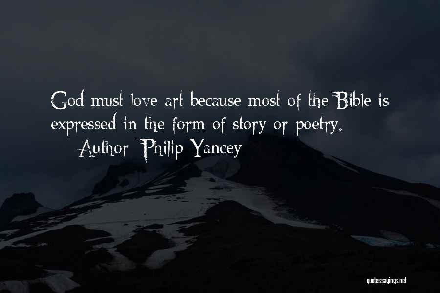 Love In The Bible Quotes By Philip Yancey