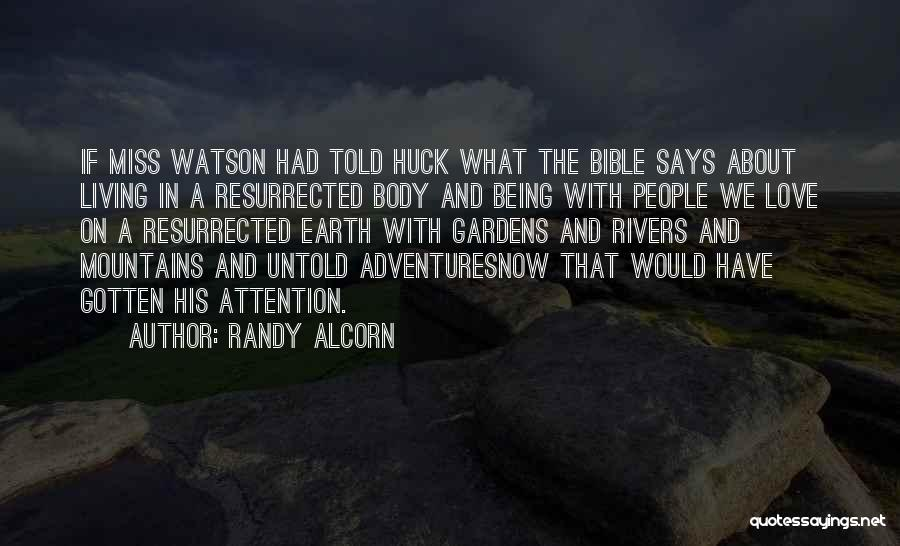 Love In The Bible Quotes By Randy Alcorn
