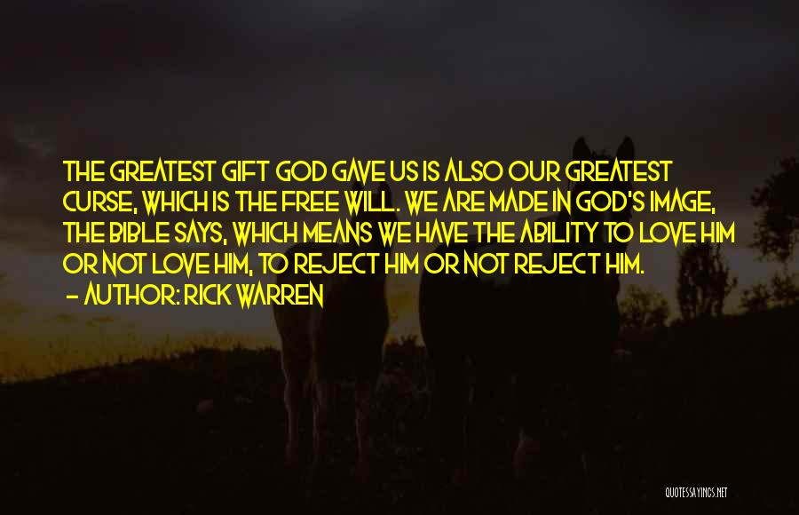 Love In The Bible Quotes By Rick Warren